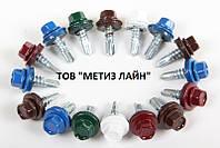 Саморез кровельный 4,8х19 RAL в металл (уп.250шт.)