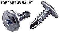 Саморез с пресшайбой 4,2х25 со сверлом (уп.500шт.)