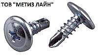 Саморез с пресшайбой 4,2х64 со сверлом (уп. 250шт.)