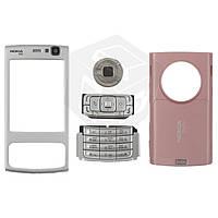 Корпус для Nokia N95 2Gb с клавиатурой - оригинальный (розовый)