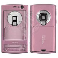 Корпус для Nokia N95 8Gb - оригинальный (розовый)