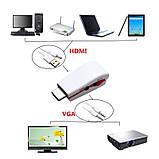 Качество . Конвертер HDMI - VGA аудио + доп.питание от USB . PS4, фото 2