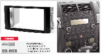 2-DIN переходная рамка VOLKSWAGEN Touareg 2002-2010; T5 (Multivan, Caravelle, Transporter) 2003-2,CARAV 08-008