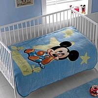 Плед-покрывало ТАС 110х140 Disney Mickey baby 2009 синий