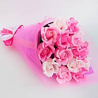 Букет из конфет Розовые розы