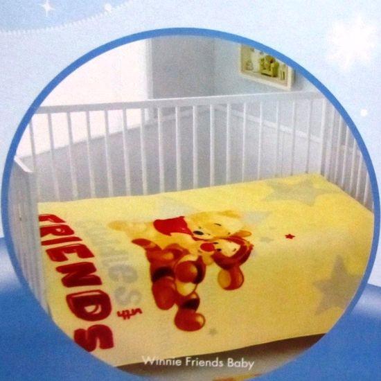 Плед-покрывало ТАС 110х140 Disney Winnie friends baby