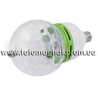 Светодиодная диско лампа E27, ЛАЗЕР ДИСКО E27(световое шоу,лазерная установка)