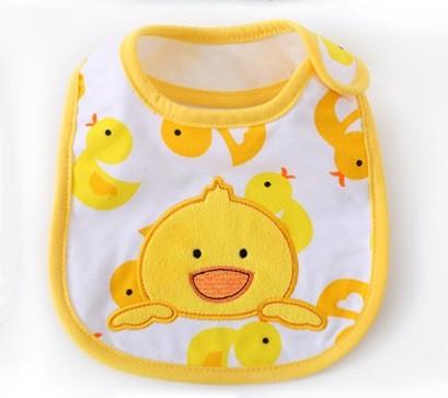 Слюнявчик  Желтый утенок