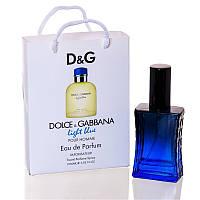 Dolce & Gabbana Light Blue pour Homme (Лайт Блю Пур Хом) в подарочной упаковке 50 мл (реплика) ОПТ