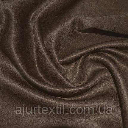 Штора софт шоколадно-коричневая, фото 2