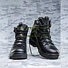 Ботинки кожа черные зимние Атака