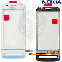Touchscreen (сенсорный экран) для Nokia C6-00, оригинальный (белый)