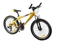 Велосип Азимут Джампер 24 дюйма А+ алюминиевый Azimut Jumper mtv горный,  хардтейл