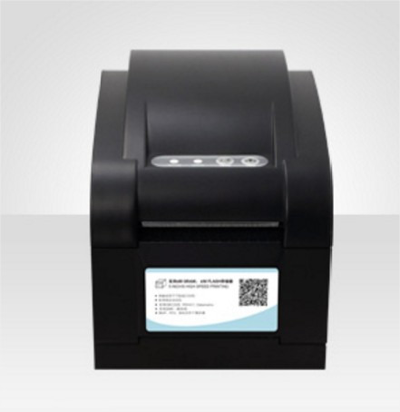 Принтер етикеток, термопринтер штрих кодів Xprinter XP-350B 82mm