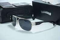 Солнцезащитные очки Chrome Hearts Briwn silver, фото 1