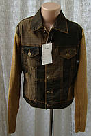 Детская куртка джинсовая демисезонная Choklate р.5-7 лет 5816