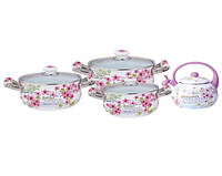 Набор эмалированной посуды Kamille KM5902B