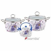Набор эмалированной посуды Kamille KM5900B