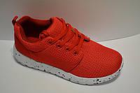 Кроссовки женские подросток аналог nike roshe run яркие красные