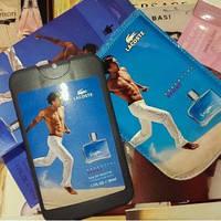 Lacoste Essential Sport  50 мл Мини парфюмерия в кожаном чехле на планшете