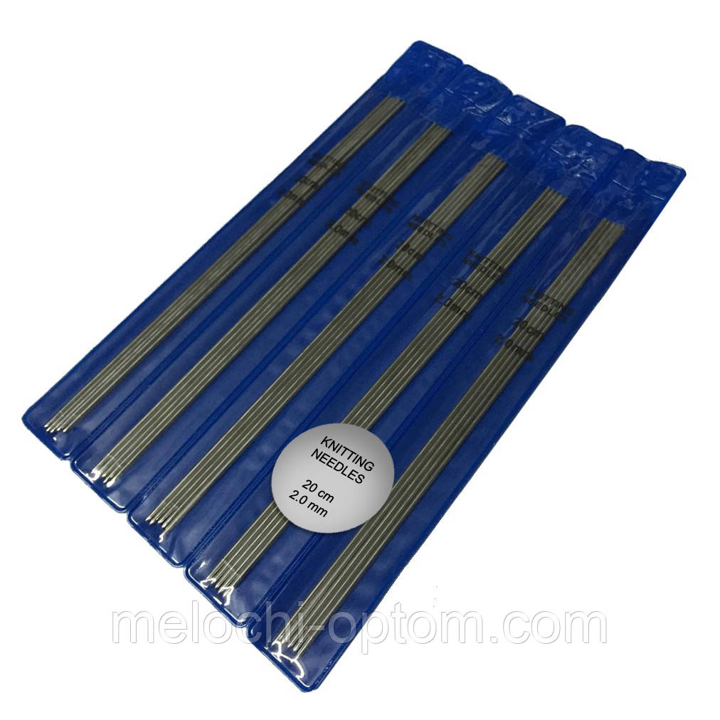 спицы для вязания носочные 20cm5шт металлические продажа цена в