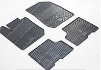 Резиновые коврики Дачия Логан 2 в салон (комплект ковриков на Dacia Logan 2)