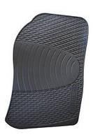 Коврик резиновый передний правый (пассажирский) черный OPEL VECTRA-B