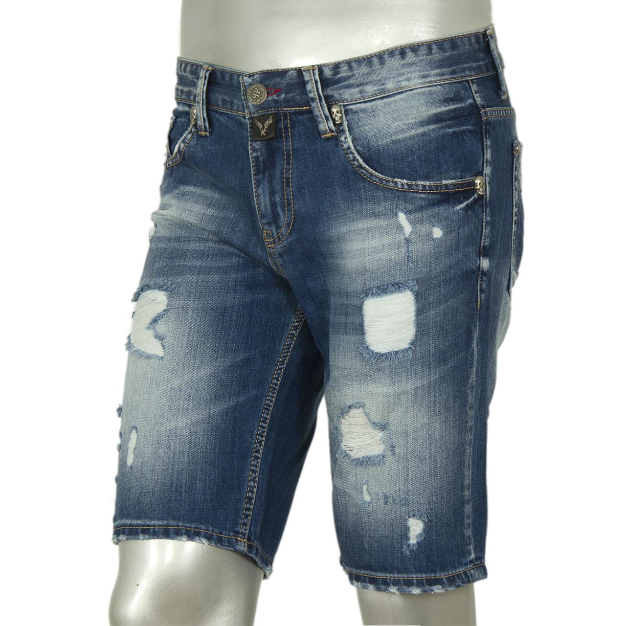 """Шорты мужские джинсовые""""PHILIPP PLEIN"""""""