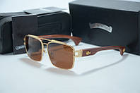 Солнцезащитные очки Chrome Hearts MSVPT SS-GD, фото 1