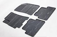 Резиновые коврики Дэу Ланос в салон (автомобильные коврики Daewoo Lanos)