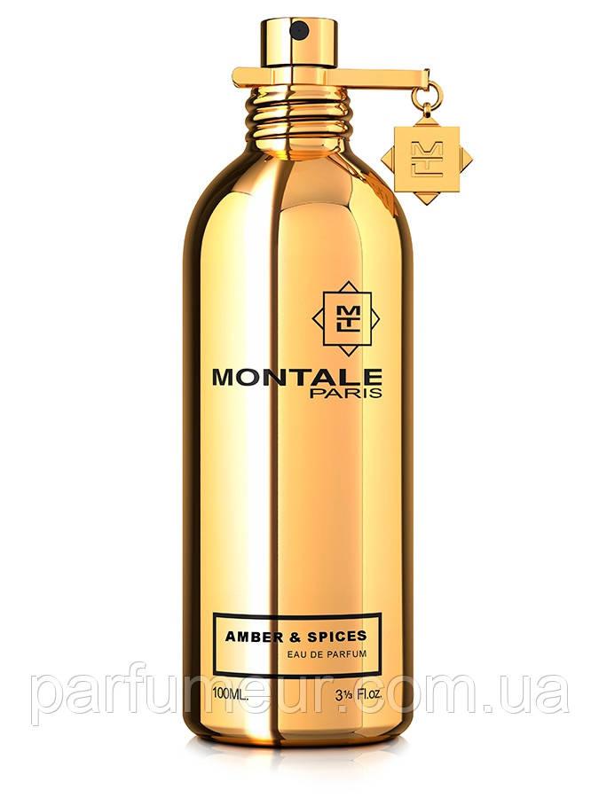Amber & Spices Montale eau de parfum 100 ml тестер