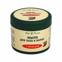 Мыло для волос и тела с живицей Невская косметика