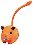 Игрушка для собак Trixie круглая с хвостом, латекс 6 см ( цвета в ассортименте), фото 2