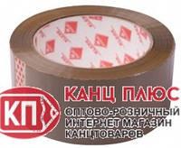 KLERK Скотч упаковочный 48мм * 30м 40мкм коричневый Арт.12746