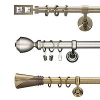 Карниз одинарный трубчатый Ø25 мм