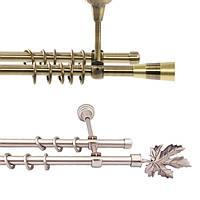 Карниз двойной трубчатый Ø19 мм