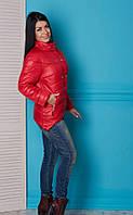 Весенняя женская куртка из эко-плащевки, расцветки разные