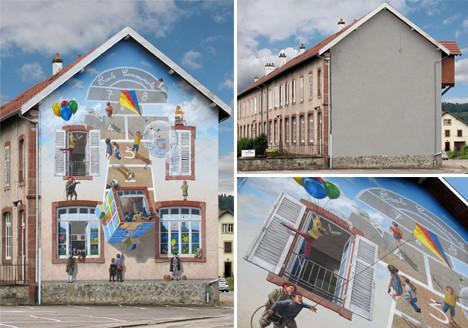 Реклама, оформление, роспись фасадов