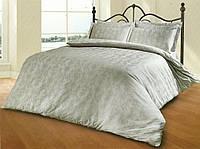 Комплект постельного белья из жаккарда le vele евро despina-gri