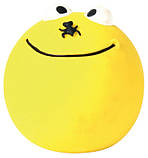 Игрушка для собак Trixie Смайлик, с пищалкой, латекс, Ø 6 см набор 4 шт., фото 4