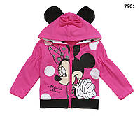 Кофта Minnie Mouse для девочки.  110, 120 см, фото 1