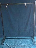 """Стойка для одежды черная, высота регулируется (1.1-1.6 м.) """"Torg"""" ZZ-0050"""