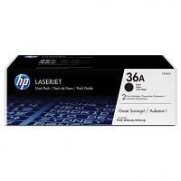 Картридж HP LJ P1505/M1120/1522 Dual Pack (CB436AF)