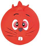 Игрушка для собак Trixie Faces с пищалкой, латекс Ø 6 см (игрушка в ассортименте), фото 6