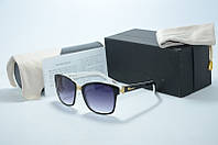 Солнцезащитные очки Chopard черные с белым, фото 1