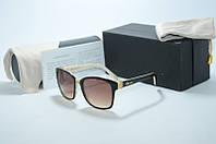 Солнцезащитные очки Chopard черные с бежевым, фото 1
