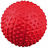 Игрушка для собак Trixie Мяч с пищалкой, резина (цвета в ассортименте), фото 4