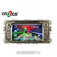 Штатная магнитола Gazer CM172-DA3 Ford Focus
