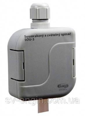 SOU-3\230V — сумеречное и световое реле с защитой IP 65 \ фотореле