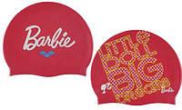 Шапка для плавания детская Арена  Барби для девочек силикон